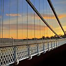 Clifton Suspension Bridge at Sunset by Alan Watt