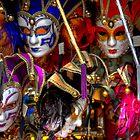 Venetian Masks by Tom Gomez