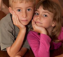 Brother and Sister by Janette Rodgers