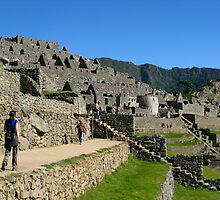 Ruins of Machu Picchu. Peru. by vadim19