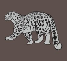 Snow Leopard by Mevv