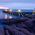 Freycinet Lodge Jetty by Simon Fallon