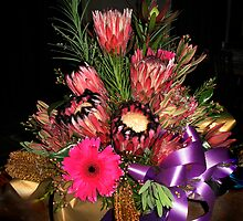 Protea Bouquet by haymelter