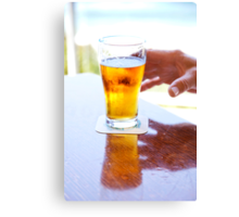 Dave's beer Canvas Print