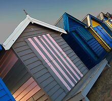Bathing Boxes  by Mark  Brady