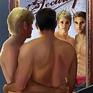 VEILED SECURITY, Dreamspinner Press, Written by Carolyn LeVine Topol, Cover Illustration by Paul Richmond by Paul Richmond