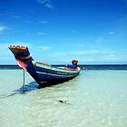 Tropical Boat by Joshdbaker