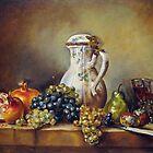 My Chardin-Still life with white pitcher by Francesca Romana Brogani