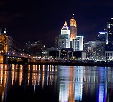 Downtown Cincinnati by Stenger