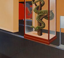 """Museum I (Python)"" by Jason Moad"