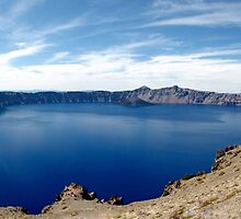 """Caldera Climate"" at Crater Lake National Park by Chuck Gardner"