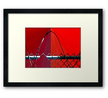 Escape Route Framed Print