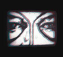 angel eyes....anaglyph by Juilee  Pryor