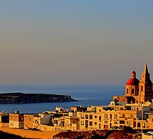 Watching Over St Paul, Malta. by Joanna Beilby