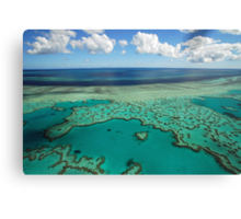 Heart Reef, Great Barrier Reef, Whitsundays Canvas Print