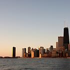 CHICAGO SKYLINE by Spiritinme