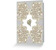 Golden Tribute Greeting Card