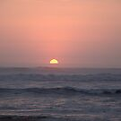 Sunset On The Pacific by Jarede Schmetterer