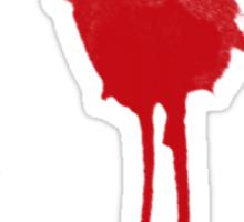 Exit wound Sticker
