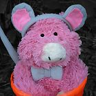 Halloween Pink Pig by stumbelina
