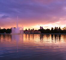 City Park Sunset by Thomas Stevens