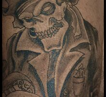 Davey Jones Tatt by Bea Godbee