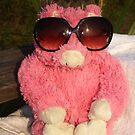 Fun in the Sun Pink Pig by stumbelina