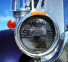 Pete Headlight by Gary Paakkonen