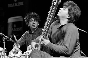 Talvin Singh + Niladri Kumar by rorycobbe