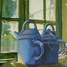 Chateau St. Loup, France potter&#x27;s shed  by Phyllis Dixon