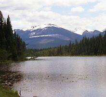 La Salle Lake & Hammer Mountain aka Boulder Mountain by Stephen Thomas