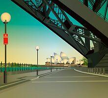 Under the bridge by Lara Allport