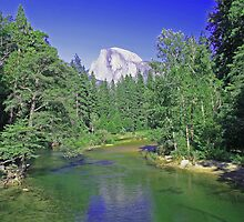 Yosemite National Parks' Half Dome by pgibsonphoto