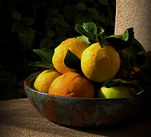 Citrus Still Life by 1bluecanoe