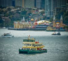 Sydney Harbour Mini by George  Kaye