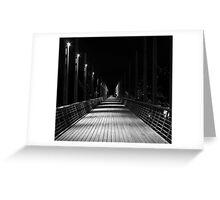 follow me... Greeting Card