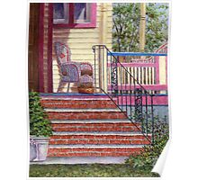 Porch with Basket Poster