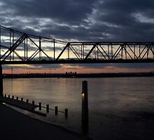 Bridge Over Ohio River by Debbie Meyers