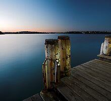 Dock of the Bay by David Haworth