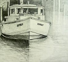 Osprey Crab Workboat by Phyllis Dixon