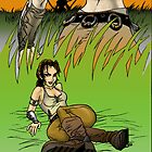 Grass Duel (color) by tofnewrealm