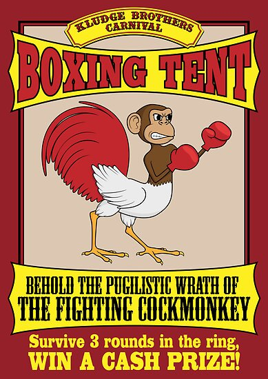 Kludge Brothers Boxing Tent by FlamingDerps