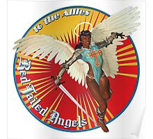 Red Tailed Angels Poster