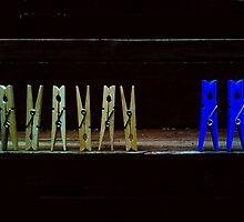 Blue Boys, Blue Girls by Colleen Milburn