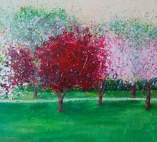 Parkland Blossoms by Susan Duffey