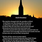 """God's Grandeur"" by Gerard Manley Hopkins, especially good as a card. by Philip Mitchell"