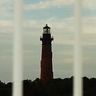 Framed Lighthouse by NikonJohn
