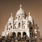 Paris - The Sacré-Coeur Basilica by jean-louis bouzou