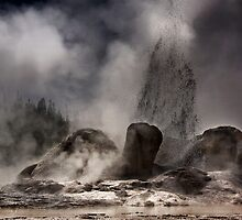 Grotto  Geyser by Alex Preiss