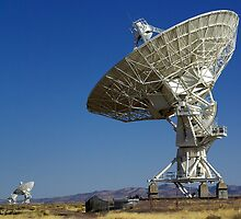 Very Large Array by Vicki Pelham